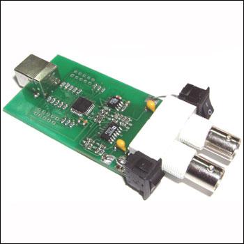 BM8020 USB осциллограф.