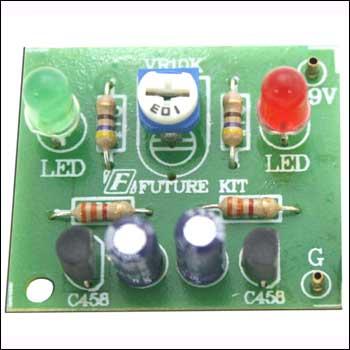 NT1001F - Мигающие светодиоды.